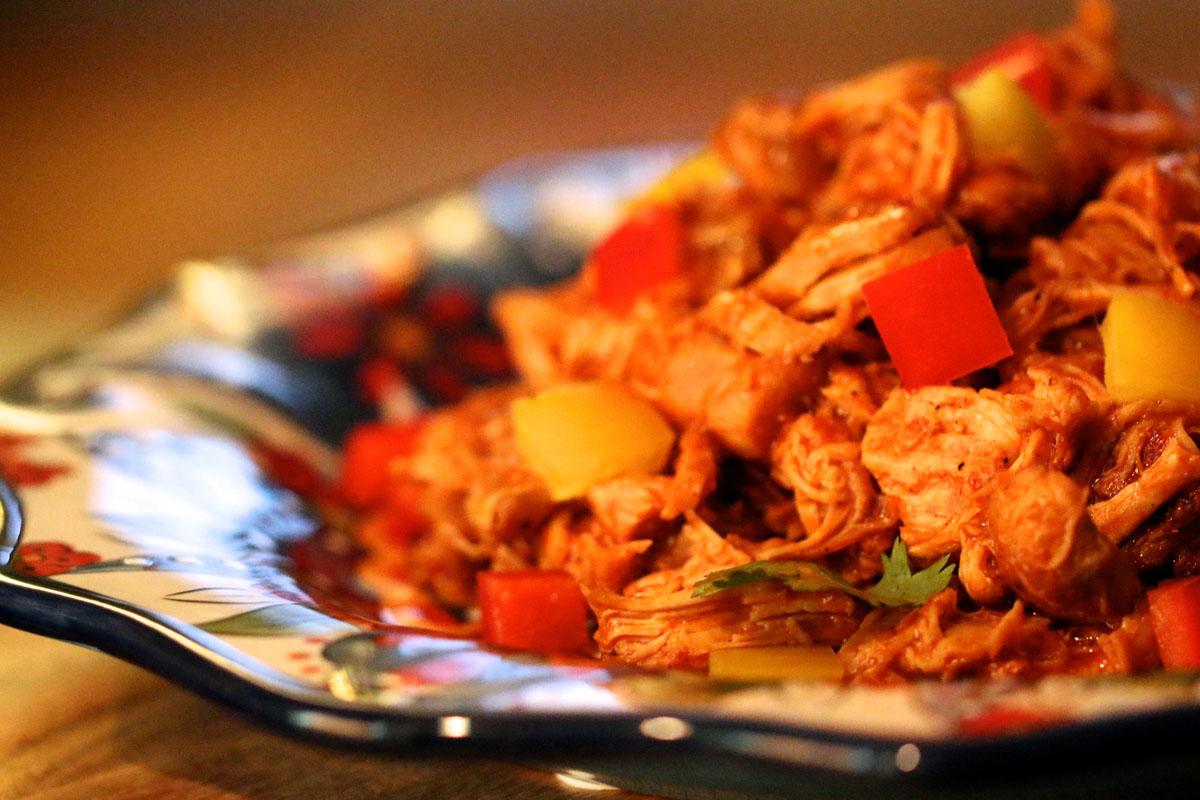 Stewed Mexicali Chicken