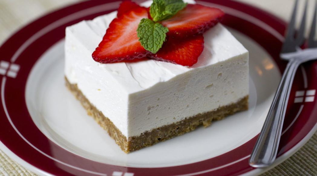 Strawberry Cheesecake Squares