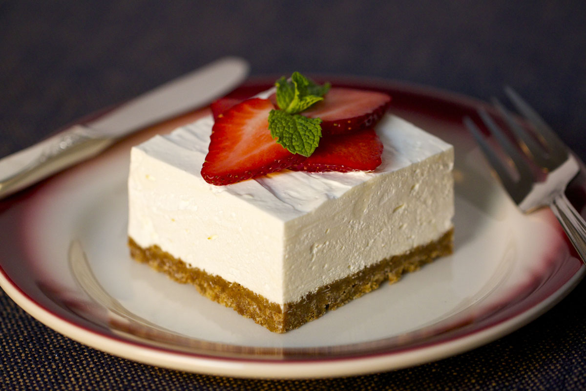 Strawberry Cheesecake Squares