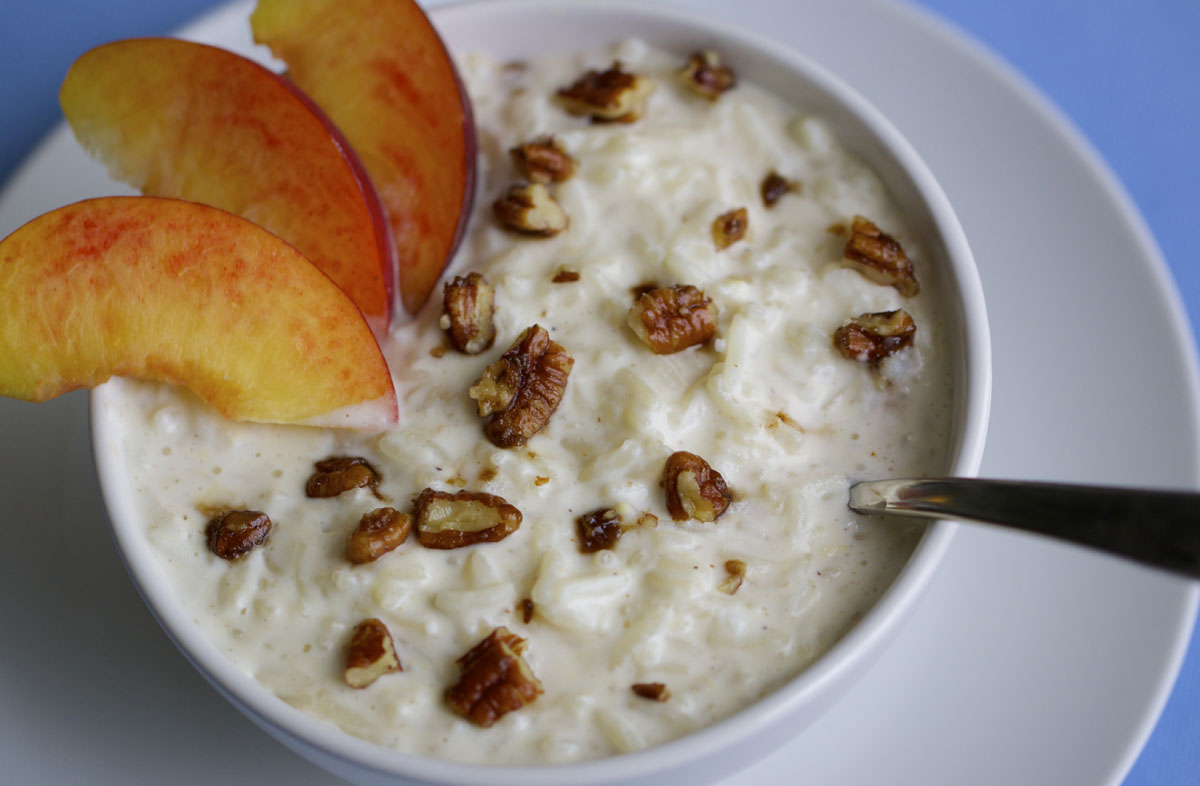 Summer Rice Pudding